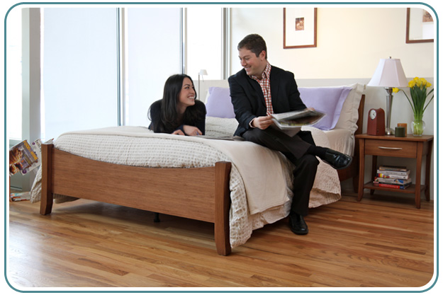 couple on mattress